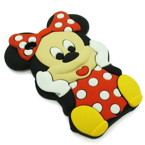 LliVEER Red Iphone 5C Disney 3D Cartoon Minnie Mouse ...  LliVEER Red Iph...