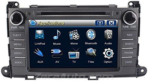 Zera 174 2011 2014 Toyota Sienna In Dash Gps Navigation