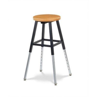 125 Series Height Adjustable Lab Stool Backrest: ...