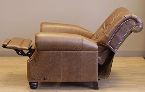 Barcalounger Phoenix II Leather Recliner ... & Barcalounger Phoenix II Leather Recliner Saddle Leather/Espresso ... islam-shia.org