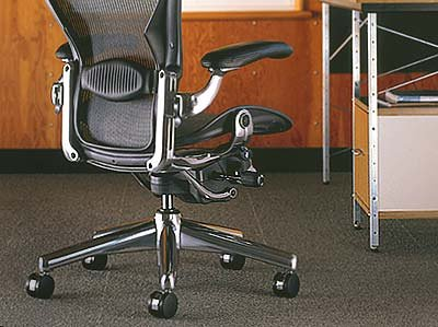 aeron chair by herman miller basic height and tilt tension