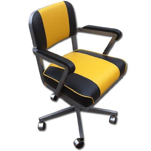 McDowell Craig Vintage Steel 5 Star Swivel Chair