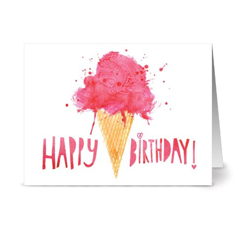 Perfectly Painted Birthday 36 Cards