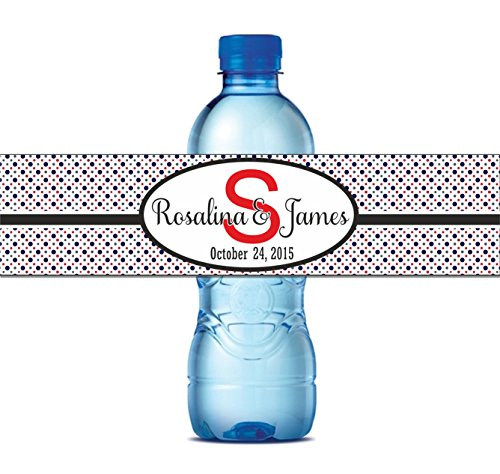 Retro Design Waterproof Water Proof Water Bottle Labels Self Adhesive  Stickers 8