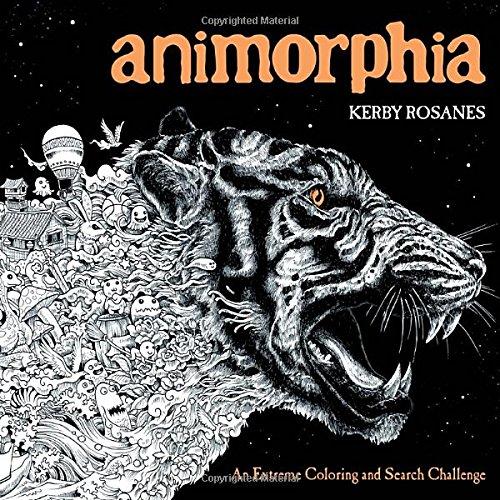 Animorphia An Extreme Coloring