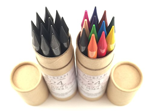 ashleighnicolearts artist quality colored pencils with super long