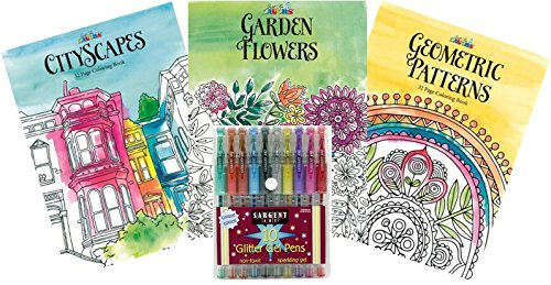 Just For Laughs Adult Coloring Book Kit