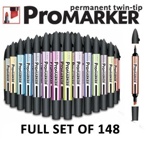 Set of 4 Letraset Fine Liner Artists /& Designers Pens Tria Promarker Magna