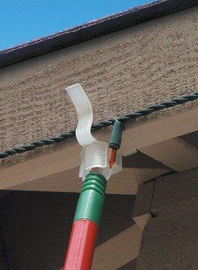 Indoor Outdoor Eave Grip Clips Light Hooks 25 Pack