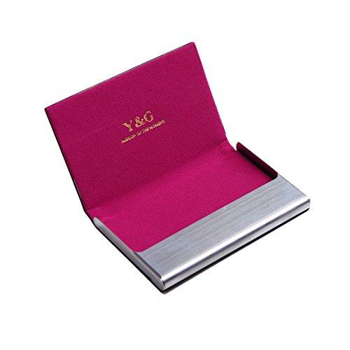 hot sale online 36738 d583d YDC05 Best Business Card Holder Leather Card Case Excellent Designer By Y&G